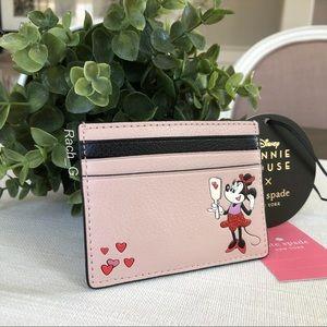 Disney x Kate Spade Minnie Mouse Card holder